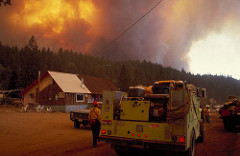 In fire-based ecosystems, its not a question of if there will be a wildfire, but a matter of when.