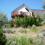 Cantilevered decks surrounded by junipers are a major fire hazard.