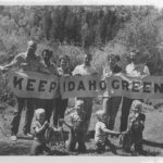 Historical Keep Idaho Green banner.