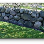 Stone walls are a good hardscape feature to have in your Firewise landscape.