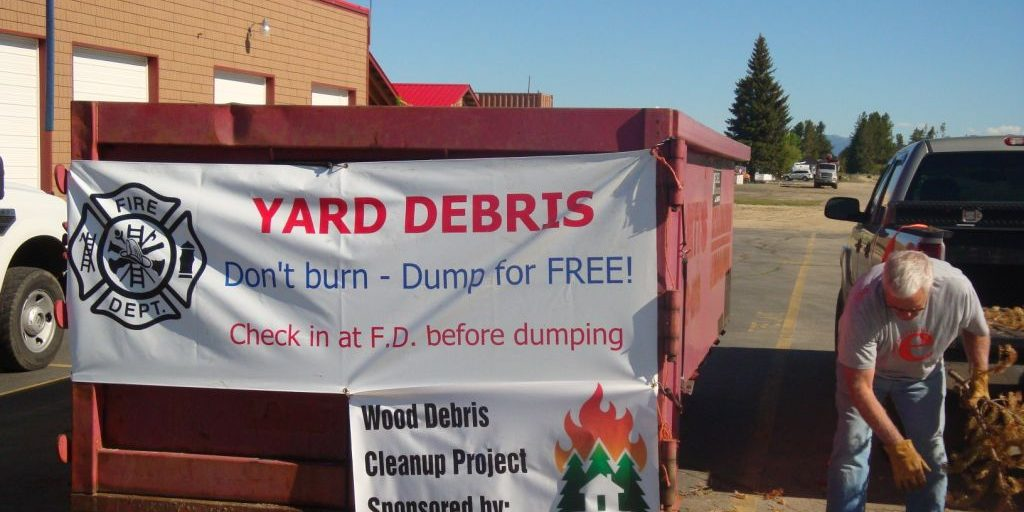 Firewise Community Action Day, Valley Co. ID.