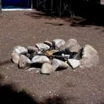 Make sure your fire ring is in a safe location and in good repair.